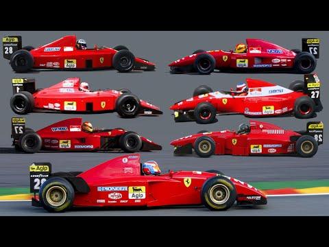 Ferrari F1 V12 special 1989-1995 (update 2018)