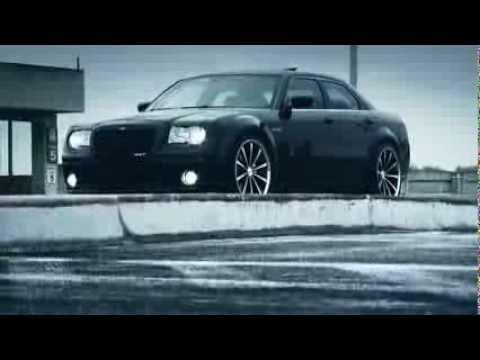 """Chrysler 300 SRT8 on 22"""" Vossen VVS-CV1 Concave Wheels / Rims"""