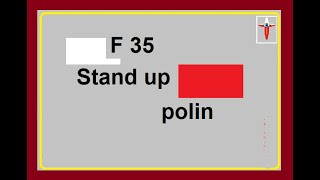 F 35 Stand up polin