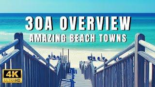 Destins Best Kept Secret 30A - Ultimate Beach Towns! Must See Florida Gulf Coast