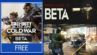 Call of Duty: Black Ops Cold War OPEN Beta All Details! (How to Play)