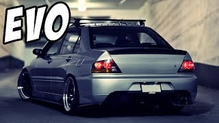 Mitsubishi Lancer Evolution Compilation | Launches - Backfire - Donuts