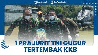 1 Prajurit TNI Gugur Ditembak KKB saat Proses Evakuasi Jasad Suster Gabriela di Pegunungan Bintang