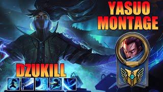 Dzukill Yasuo Montage - EUW Challenger Yasuo