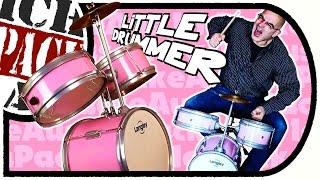 Langley Kids Drum - Schlagzeug für die ganz kleinen Rocker (Unboxing/Aufbau/Fazit)