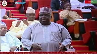 Impeachment Notice: How Saraki, Deputy senate leader saved Buhari - Video