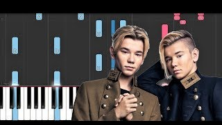 Marcus & Martinus   Pocket Dial (Piano Tutorial)