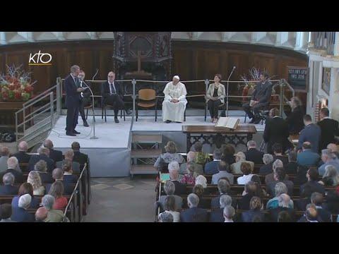 Visite du Pape François à l'Eglise évangélique vaudoise