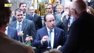 preview picture of video 'Hollande es dirigeix cap al sopar al centre d'Andorra la Vella'