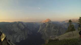 Glacier Point Sunset- Yosemite National Park, USA