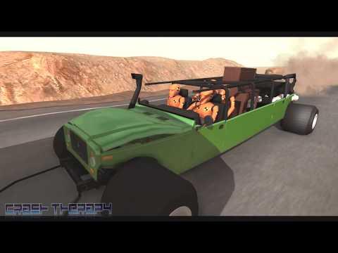 Crazy TOWING #2 (Cars Dragging) BeamNG Drive | CrashTherapy