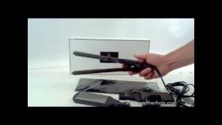 preview picture of video 'Hair Straightener by Mother Hair Exclusive Salon Hair Iron Whats In The Gift Box'