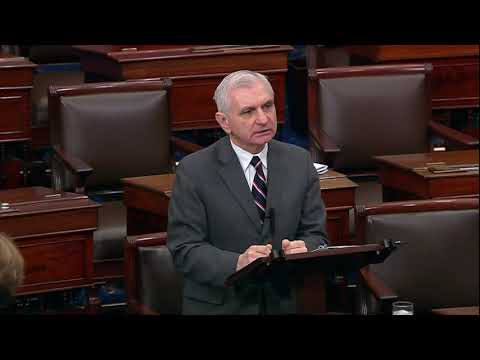 Reed Speaks on the Floor in Support of Peter Gaynor to be FEMA Administrator