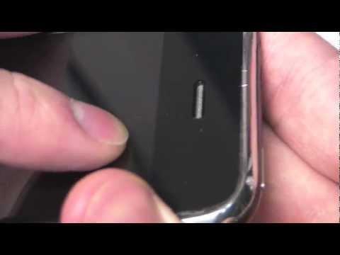 iPhone 3GS не видит сеть после падения