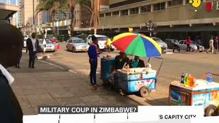 Military coup in Zimbabwe