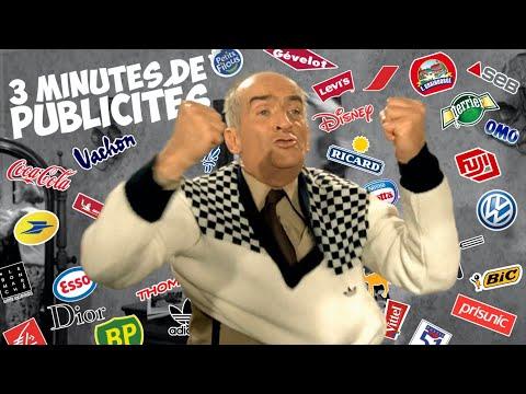 3 minutes de publicités avec Louis de Funès !
