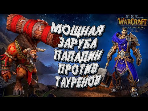 ПАЛАДИН ПРОТИВ ТАУРЕНОВ 100 ЛИМИТА ОТ ОБОИХ: Chaemiko vs Soin Warcraft 3 Reforged