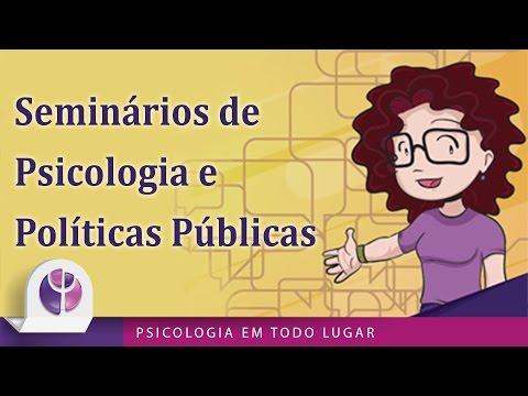 Seminários de Psicologia e Políticas Públicas