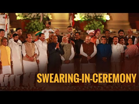 Swearing-in-Ceremony of Narendra Modi as Prime Minister of India - LIVE from Rashtrapati Bhavan