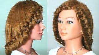 Между нами девочками, Прическа с плетением на длинные волосы.