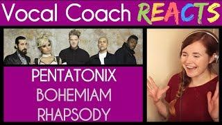 Vocal Coach Reacts to Bohemian Rhapsody (Queen) – Pentatonix