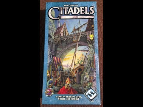 The Purge: # 1410 Citadels: Player Powers!  Card Drafting!  Plays up to 8!  Win! Win! Win!