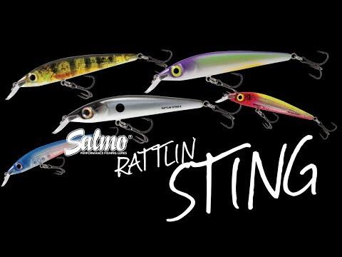 Salmo Sting Rattlin Floating 9 videó