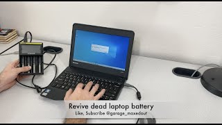 Tutorial: How to revive your dead laptop battery
