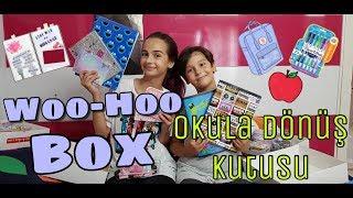 Okula Dönüş - Woo-Hoo Box Kutu Açılımı!