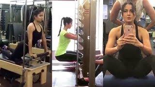 Katrina Kaif Hard WORKOUT In Gym For Salman Khan