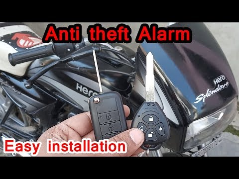bike anti theft system
