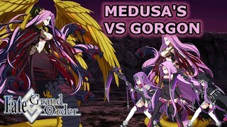 Gorgon  - (Fate/Grand Order) - Medusa's VS Composite Deity Gorgon - Babylonia [FGO NA]