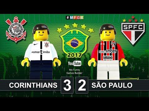 Corinthians 3x2 São Paulo • CBF Confederação Brasileira de Futebol 2017 • Lego Football Film