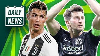 Frankfurt schafft die Sensation! Cristiano Ronaldo weg von Juventus? FC Barcelona will Richarlison!