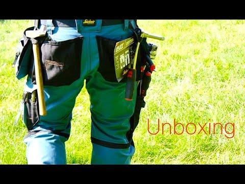 Special Unboxing Snickers Workwear Arbeitshose  von MrHandwerk*