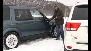 Наши тесты - Land Rover Discovery vs Jeep Grand Cherokee