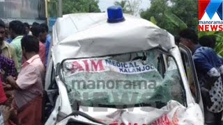 3 killed in Accident near Punalur   | Manorama News