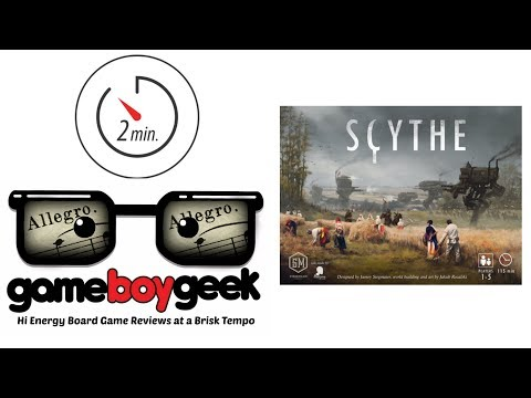 The Game Boy Geek's Allegro (2-min) Review of Scythe