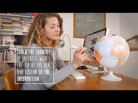 Nova Rico Parlamondo interactieve wereldbol