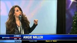 Angie Miller - This Christmas Song - Live on Fox News Dallas - December 10th, 2013