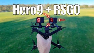FPV Hero 9 vs Hero 8 with Reelsteady Go (Raw Footage Included)