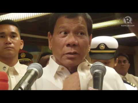 Duterte to block renewal of ABS-CBN franchise