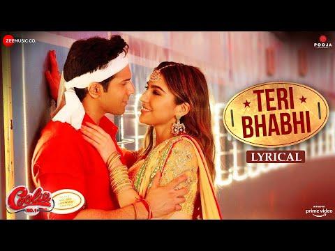Teri Bhabhi - Lyrical   Coolie No.1  Varun Dhawan, Sara Ali Khan   Javed - Mohsin Ft. Dev N & Neha K