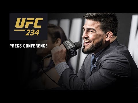 La conférence de presse avant combat de l'UFC 234