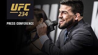 UFC 234: Pre Fight Press Conference