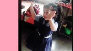 SANJU: Main Badhiya Tu Bhi Badhiya | Cute Girl Dance Funny video 1080p HD