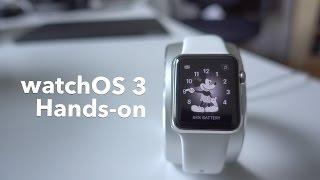 watchOS 3: hands-on + new features