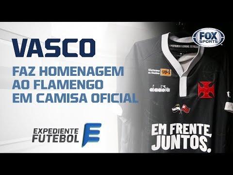 e057e4ad6e Edmundo comenta bandeira do Flamengo na camisa do Vasco  veja ...