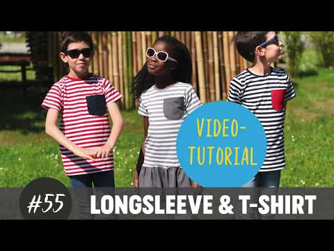 Longsleeve & T-Shirt ganz einfach selber nähen  DIY-Näh-Tutorial