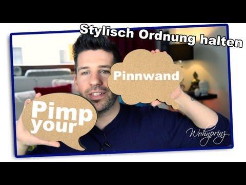 Ordnung am Schreibtisch - Pimp your Pinnwand!